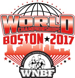 2017 INBF and WNBF Cellucor World Championships Official Logo