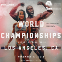 INBF WNBF Cellucor World Championships 2018 Announcement Los Angeles California