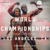 INBF WNBF Cellucor World Championships 2018 Announcement Los Angeles California