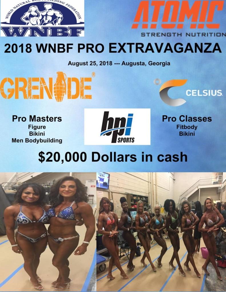 2018 WNBF Pro Extravaganza INBF Grand Pri WNBF Pro Qualifier