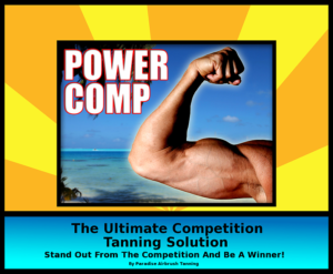 Paradise Airbrush Tanning Power Comp 2018 Official Tanning Company of the INBF WNBF World Championships Los Angeles California