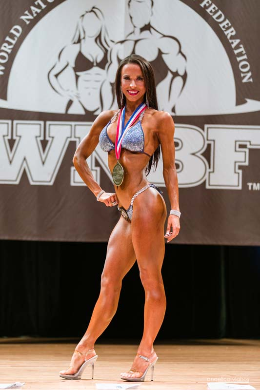 2017 WNBF Pro World Championships Bikini Medium and Overall World Champion Shauna Koehler