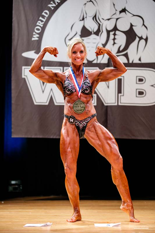 Candace Hatch, Women's Pro Bodybuilding Heavyweight and Overall Champion 2018