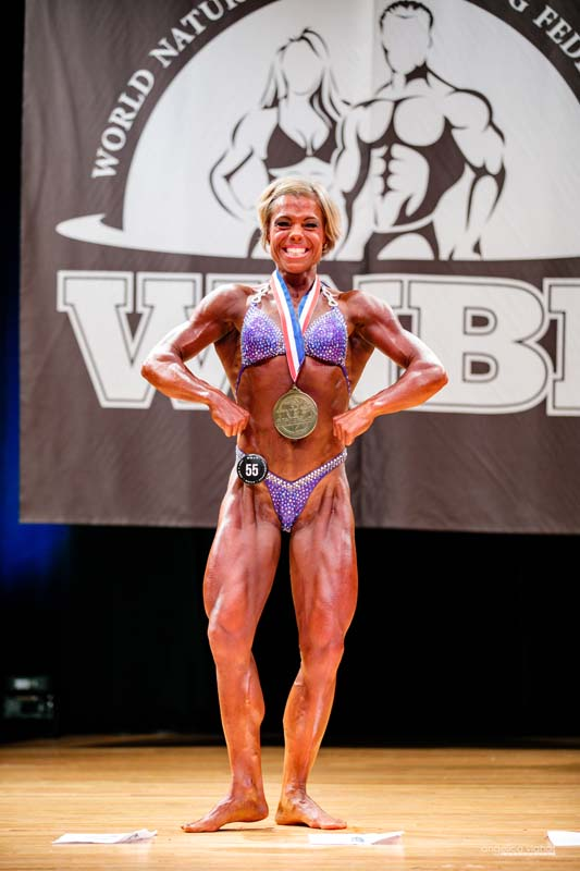 Laurie Coe, Women's Pro Bodybuilding Lightweight Champion 2018