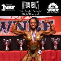 WNBF Pro Melissa Scott 2018 Iron Eagle Pro Womens Bodybuilding Champion
