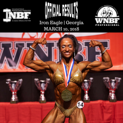 WNBF Pro Melissa Scott 2018 Iron Eagle Pro Womens Bodybuilding Champion