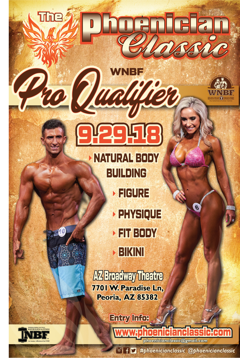2018 INBF Phoenician Classic WNBF Pro Qualifier promoted by Chris Thompson and Natasha Williams