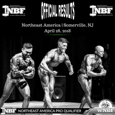 2018 INBF Northeast America WNBF Pro Qualifier Anthony and Karen Monetti Promotions