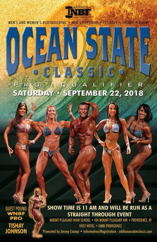 2018 INBF Rhode Island Ocean State Classic Natural Championships WNBF Pro Qualifier