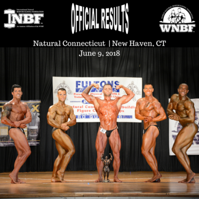 2018 INBF Natural Connecticut WNBF Pro Qualifier Mr and Mrs Connecticut New Haven Connecticut