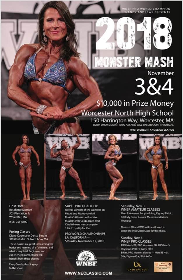 INBF Monster Mash + WNBF Pro Masters American