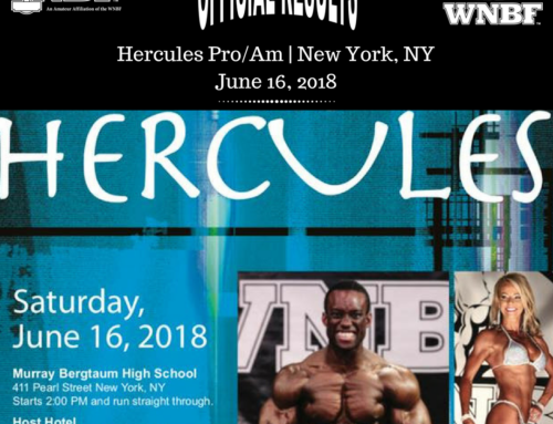 RESULTS: 2018 Hercules & Pro Masters