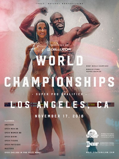 WNBF INBF Worlds 2018 Los Angeles CA