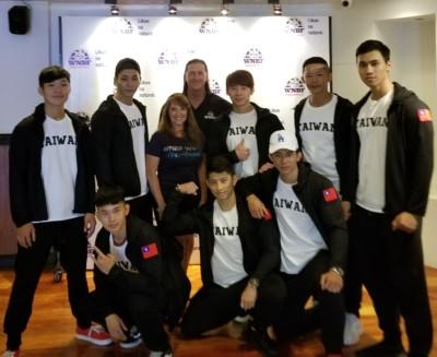 Taiwanese Team traveled to Mikati Manila for the WNBF Ph 1 international championships WNBF Taiwan