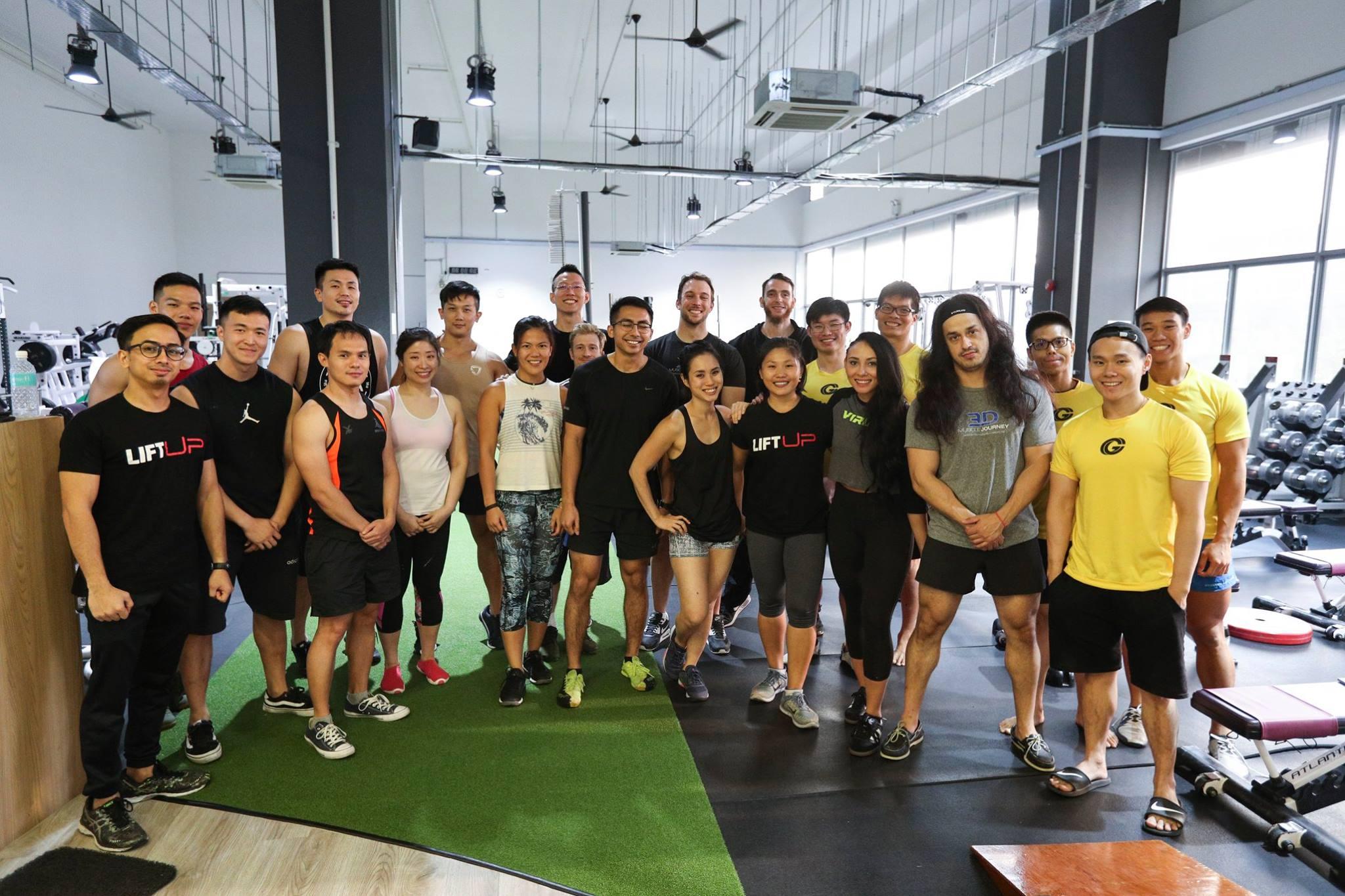 WNBF Singapore Melvyn Yeo Eric Helms Alberto Nunez Leanna Carr 3DMJ