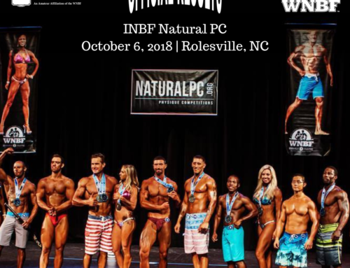 RESULTS: 2018 INBF Natural PC