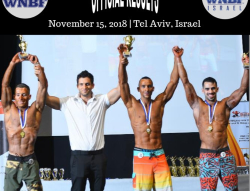 RESULTS: 2018 WNBF Israel Championships