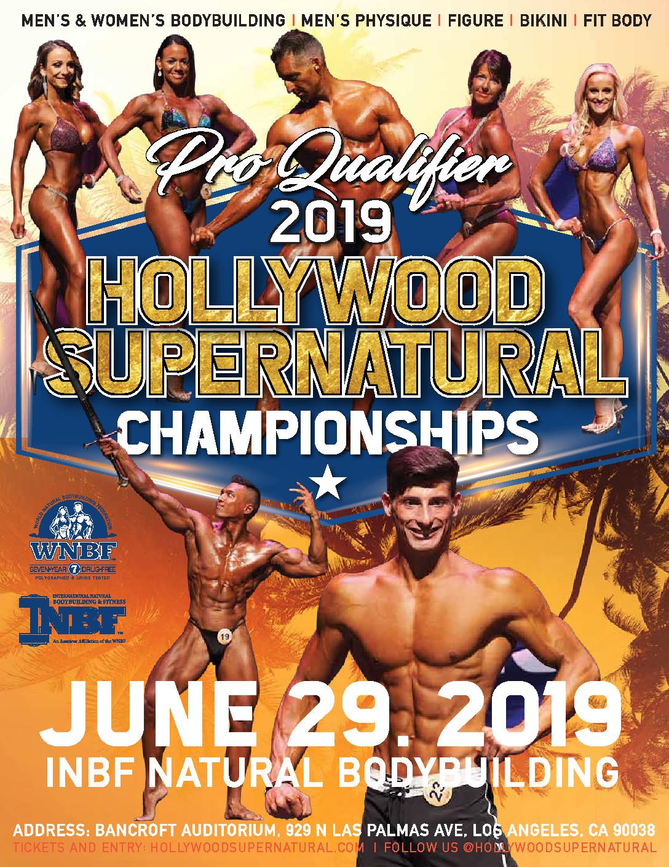 INBF Hollywood Super Natural WNBF Pro Qualifier