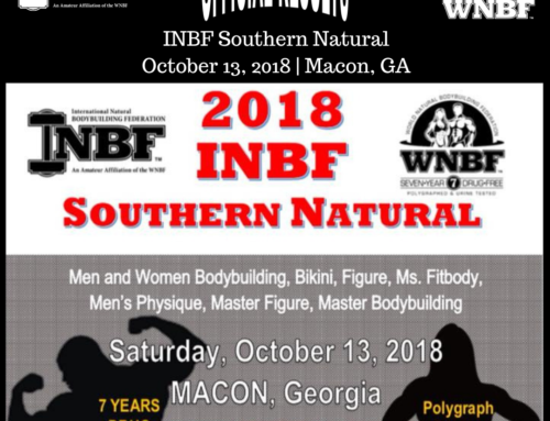 RESULTS: 2018 INBF Southern Natural