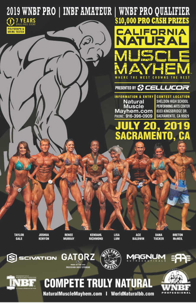 Sacramento Muscle Mayhem Natural Pro Am WNBF Pro Qualifier