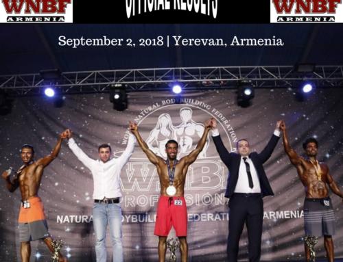 RESULTS: 2018 WNBF Armenia