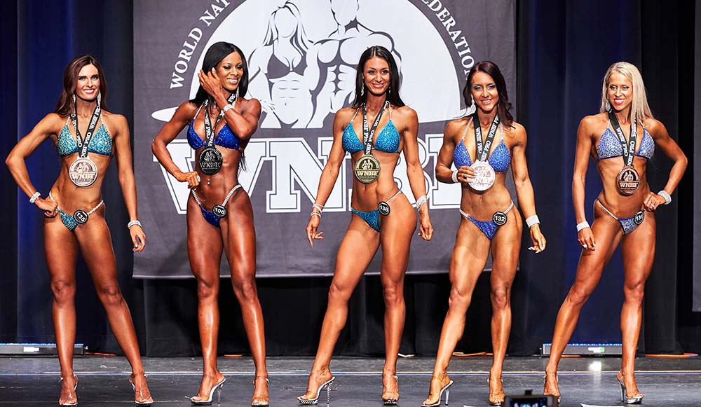 323bcc8b2c180 Our Pro Bikini Tall class was comprised of twelve beautiful ladies.  Convincingly winning the class was Reannan Rhodes