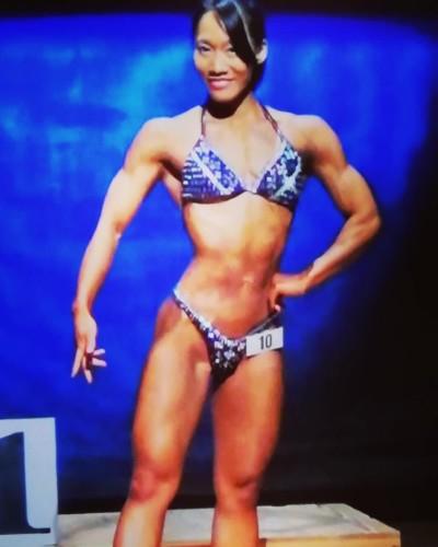 Miyuki Iga amateur athlete ANNBBF All Natural Nippon Body Building Federation Japanese Affiliate of the WNBF