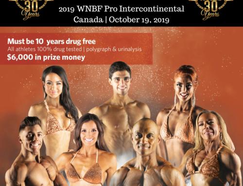 Results: 2019 WNBF Intercontinental