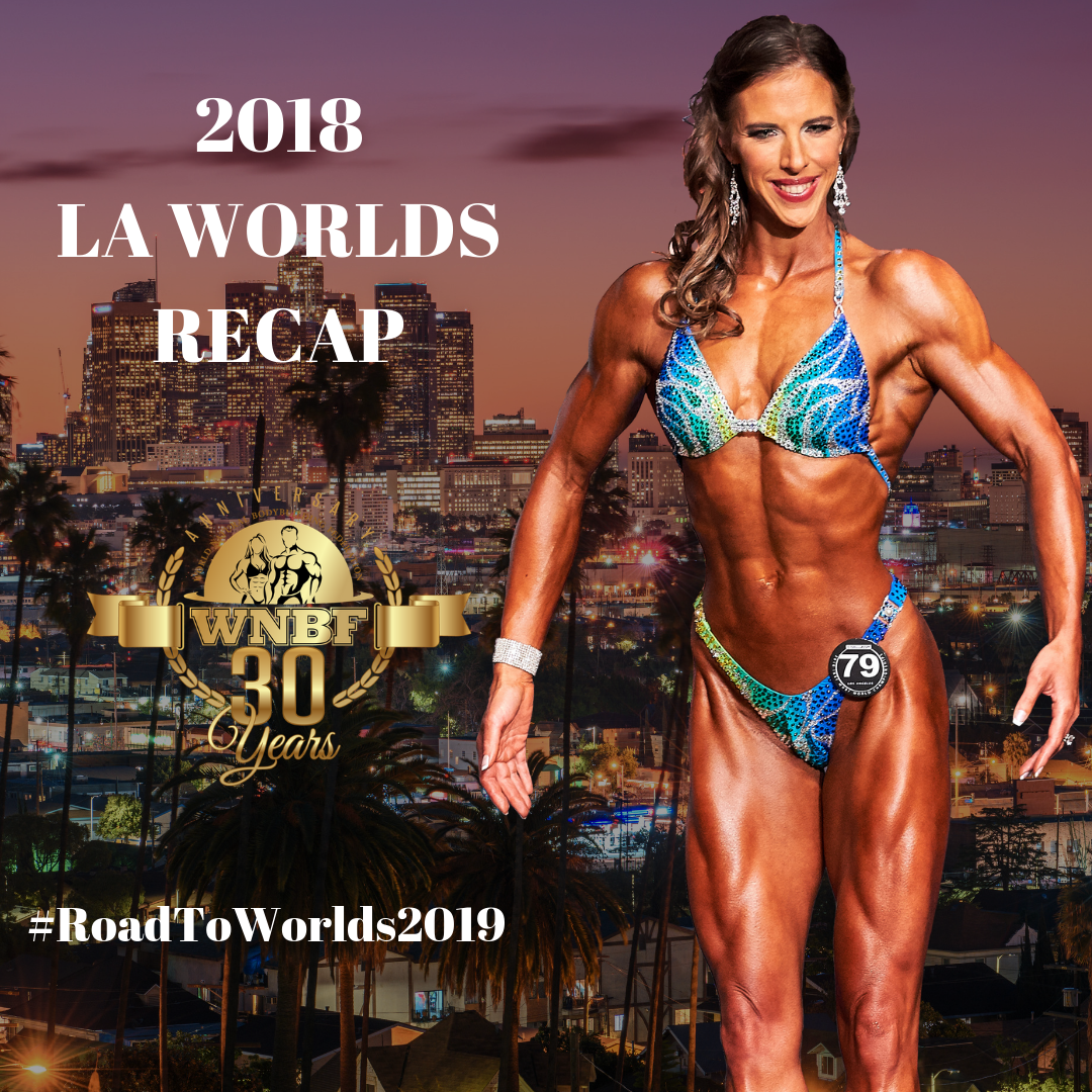WNBF Pro World Figure Champion Chrissy Zmijewski 2018 Worlds Recap Featured Athlete