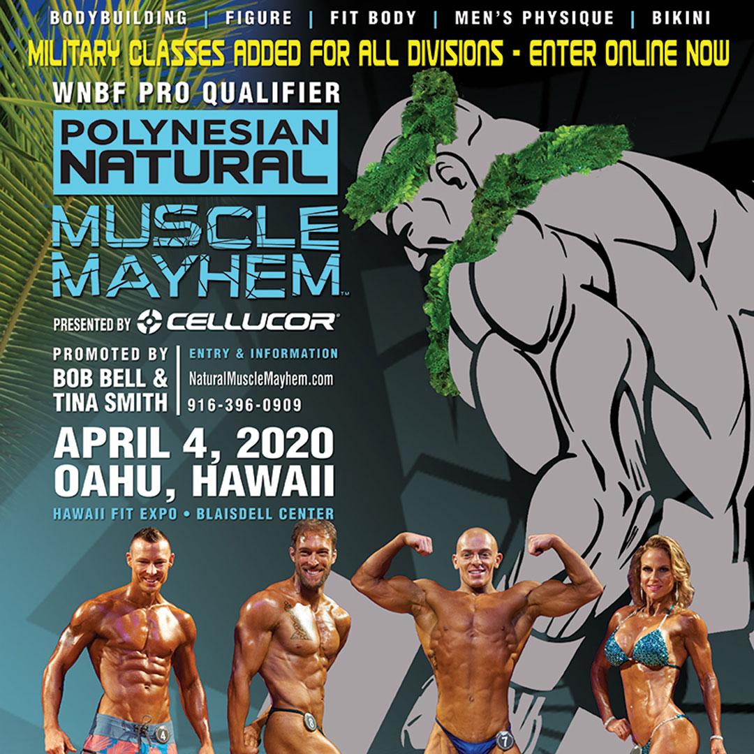4-4-2020 INBF Polynesian Natural Muscle Mayhem WNBF ProQ